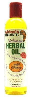 Africa's Best Ultimate Herbal Oil 8 oz. (Case of 6)