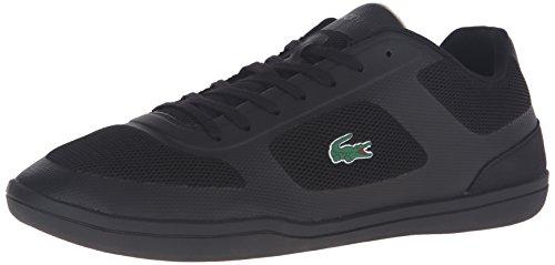 Lacoste Men's Court-Minimal Sport 316 1 Spm Fashion Sneaker, Black, 9 M US