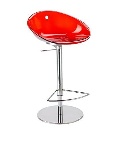Pedrali Sgabello Da Cucina Gliss 970 Rosso