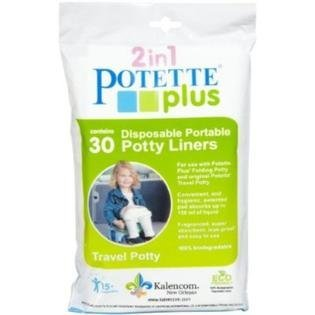 Kalencom 2 in 1 Potette Plus Disposable Potty Liners 30ct (PACK OF 2)