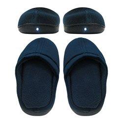 Cheap Slippers That Light up – Bright Feet Lighted Slippers, Feet Lighted Slippers – Foot Light Slippers, Light Up Slippers, Lighted Memory Foam Slippers (B008QZ6ALY)