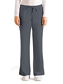 Grey's Anatomy Women's Junior-Fit Five-Pocket Drawstring Scrub Pant