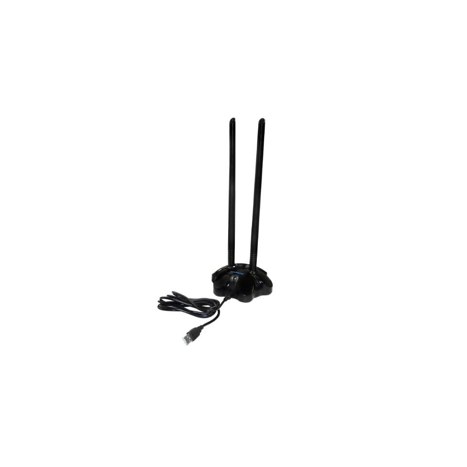 Powerlink 1000mW High Power Wireless 802.11b/g/n USB Adapter 150Mbps with 2x7 dBi Antenna (PL 14N)