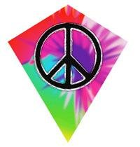 MicroDiamond Poly Kite: Peace - 1