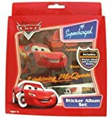 Disnsey Cars Mcqueen Sticker Album set
