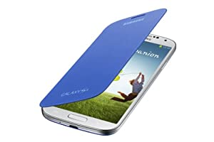 Samsung Galaxy S4 Flip Cover Folio Case, Light Blue (EF-FI950BCEST1)