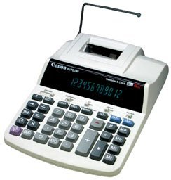 Canon P170-DH 12 Digit Desktop Printing Calculator