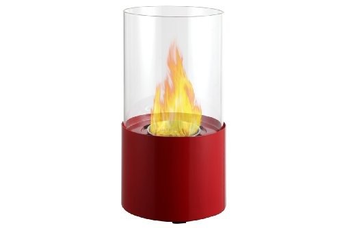 Ignis Circum Red Tabletop Ventless Ethanol Fireplace