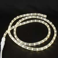 Warm White Custom 12 Volt LED Rope Lights 1/2