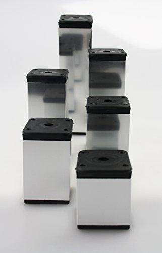 Mbelfuss-Tischbein-aus-Aluminium-Ausfhrung-Chrom-40mmx-40mm-diverse-Hhen
