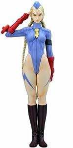 Capcom Girls Collection Street Fighter III Original Cammy Blue Uniform PVC Figure By Yamato