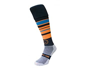 Wackysox Tangerine Dream Rugby Socks - size 2-6