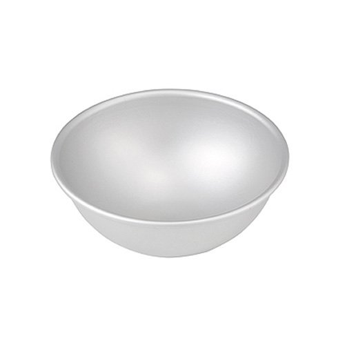 Fat Daddio's 8 Inch x 4 Inch Deep Aluminum Hemisphere Pan (Half Sphere Cake Pan compare prices)