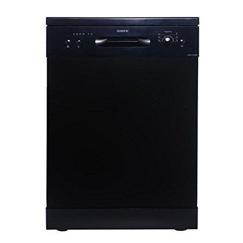 Oceanic lv12dd49b - lave-vaisselle 12 couverts - noir