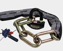 Oxford Nemesis 1.2m Chain and Lock