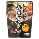 マルサン 鶏白湯鍋スープ 750g×2個