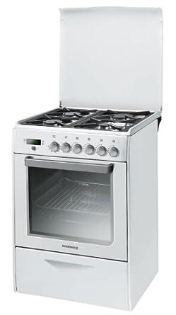 Rosieres RGP6376RBX cuisinière - fours et cuisinières (Autonome, Blanc, Electrique, Gaz, 220 - 240 V, Convection, décongeler, Grill)