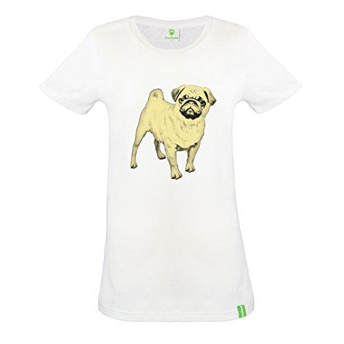 Carlin-Couleur-Portrait-T-shirt-en-coton-biologique-femmes