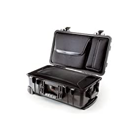 Pelican Products 1510LOC Laptop Overnight Case with Foam Black PL1510LOC-BK