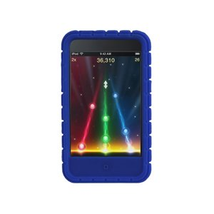 Speck PixelSkin Rubberized Case for iPod touch 2G, 3G (Blue)