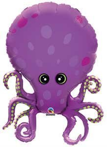 "Single Source Party Supplies - 35"" Octopus Mylar Foil Balloon by Single Source Party Supplies"