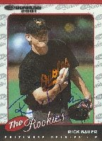 Rick Bauer Baltimore Orioles 2001 Donruss The Rookies Autographed Hand Signed Trading... by Hall+of+Fame+Memorabilia