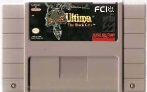Ultima: The Black Gate - Nintendo Super NES