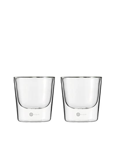 Jenaer Glas Set of 2 Hot 'n Cool Collection Double Wall Glass Tumblers, 6.4-Oz.