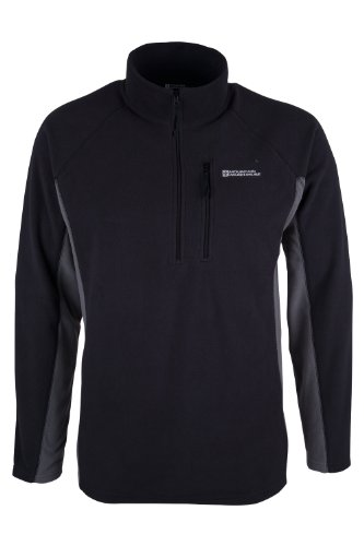 mountain-warehouse-ashbourne-mens-walking-hiking-thermal-zip-up-warm-fleece-outdoor-jumper-top-long-