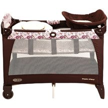 Graco - Newborn Napper Playard, Carina front-914344