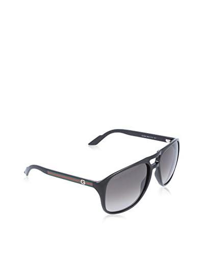 GUCCI Gafas de Sol 1018/S EU BIL (57 mm) Negro