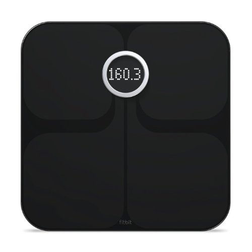 Fitbit Aria Wi-Fi Smart Scale, Black