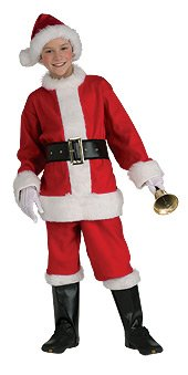 Santa Claus Suit Costume - Small