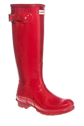 Original Gloss Tall Low Heel Rain Boot