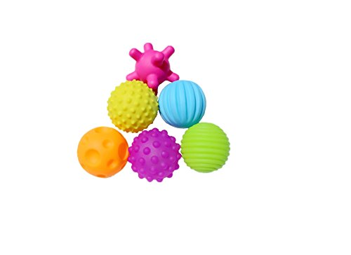 set-of-6-sensory-balls-textured-ball-set-for-baby-and-toddlers-teether-ball-toys-encourage-babys-sen
