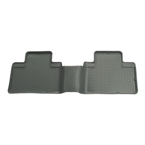 Husky Liners Custom Fit Second Seat Floor Liner for Toyota Tacoma for Select Toyota Tacoma Models (Grey) custom fit car floor mats for toyota camry corolla rav4 mark x crown verso fj cruiser l 3d car styling carpet floor liner ry59