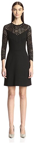 Just-Cavalli-Womens-Dress-with-Lace