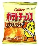 《カルビー》ポテトチップス コンソメ 28g