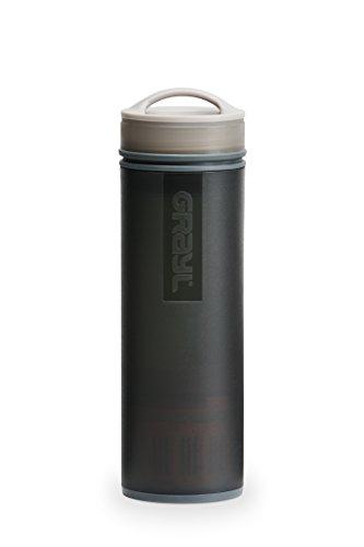 GRAYL Ultralight Water Purifier [+ FILTER] BOTTLE (Black) (Black Filter Water Bottle compare prices)