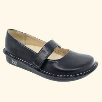 Women's Feliz Clog Size: 39, Color: Black Leather