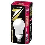 TOSHIBA ネオボールZリアル A形 100ワットタイプ 電球色 EFA25EL/21-R