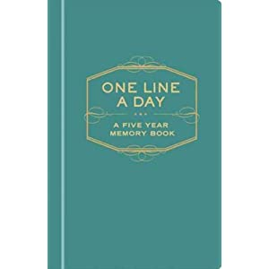 (One Line a Day: A Five-Year Memory Book) By Chronicle Books (Author) Hardcover on 01-Sep-2009