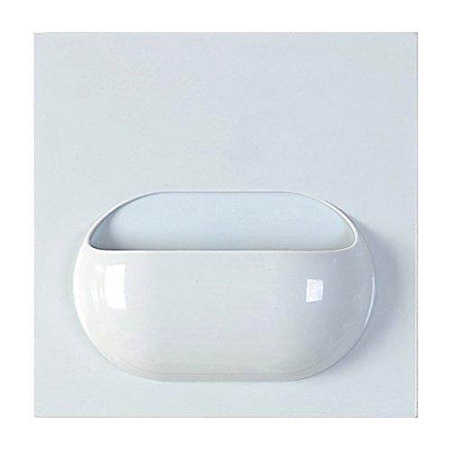 kingmas® Multifonction Pâte de rangement étagère de cuisine, étagère de rangement Support de rangement de salle de bain, bleu, 1 hole