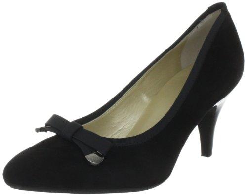Peter Kaiser SIZILIA Pumps Women's black Schwarz (SCHWARZ SUEDE RIPSBAND 603) Size: 41.5 / 7. 5