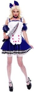 Wicked Wonderland Alice Costume - Medium - Dress Size 8-10