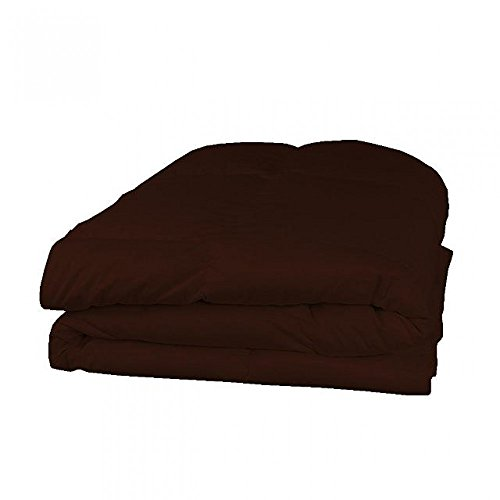 Pinak Collections Softest, Coziest Goose Down Alternative Comforter on Amazon 1000 TC Egyptian Cover300 GSM 1 PC Comforter Solid Luxury 100% Super Soft HIGHEST QUALITY. Cal King , Chocolate (Alabama Chocolate compare prices)
