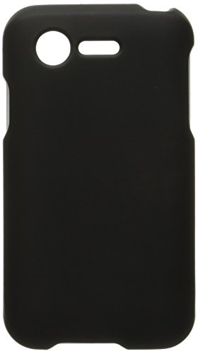 HR Wireless Rubberized Cover for LG Optimus Zone 2 L34C Fuel - Retail Packaging - Black (Optimus Fuel Rubber Phone Case compare prices)