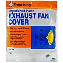 Thermwell Products EC108 Plastic Exhaust Fan Cover