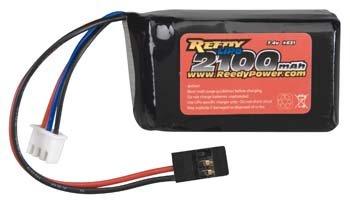 Team Associated 7.4V 2100mAh Receiver LiPo Battery