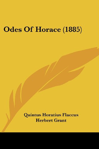 Odes of Horace (1885)